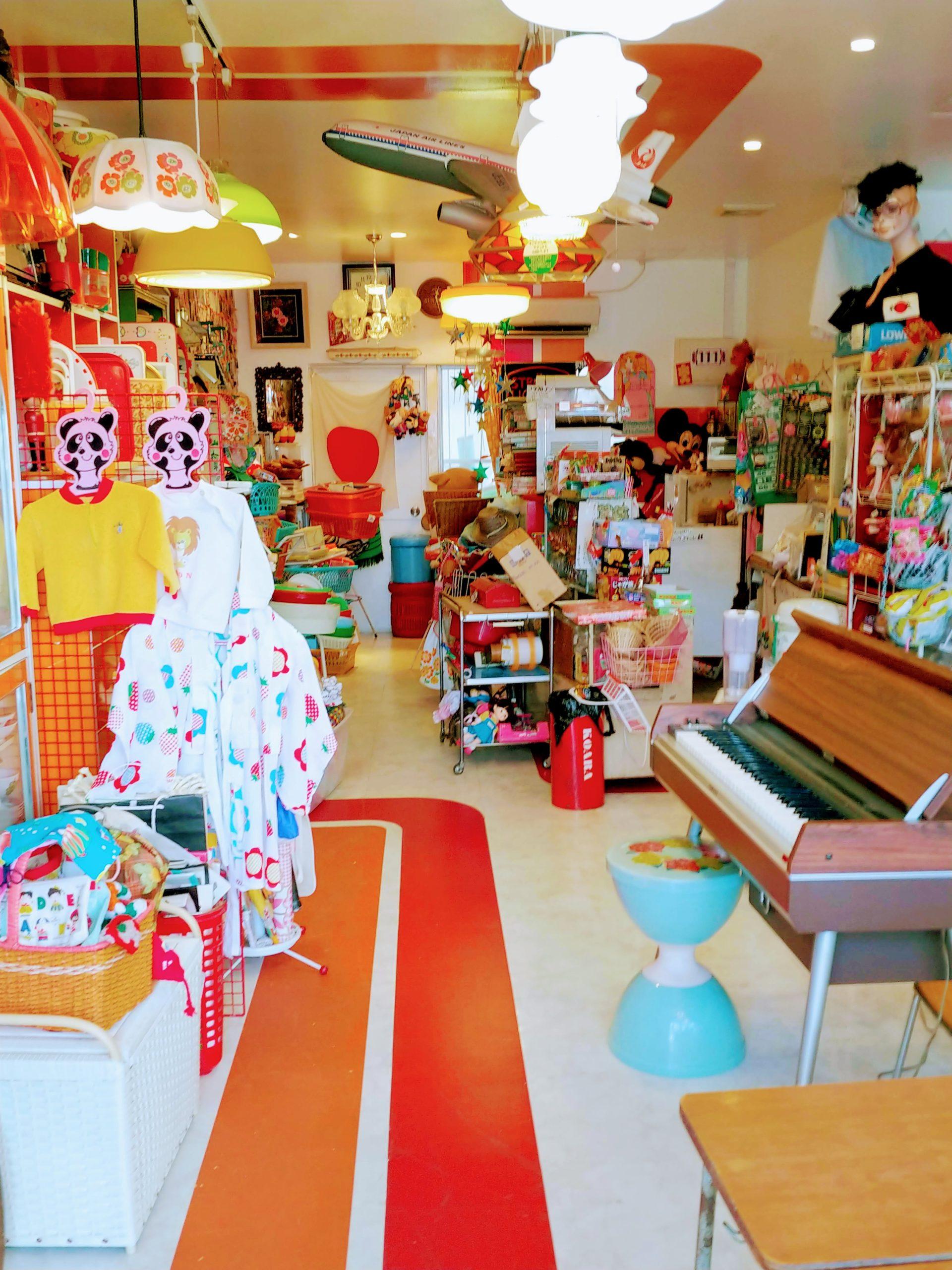 福岡市東区にあるカラフルでポップな昭和レトロ可愛い雑貨屋、青空人間